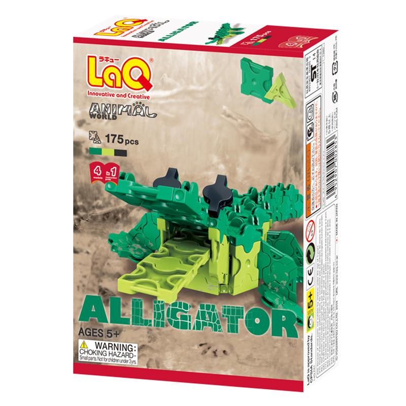 Japoniškas edukacinis konstruktorius LaQ Animal World Alligator