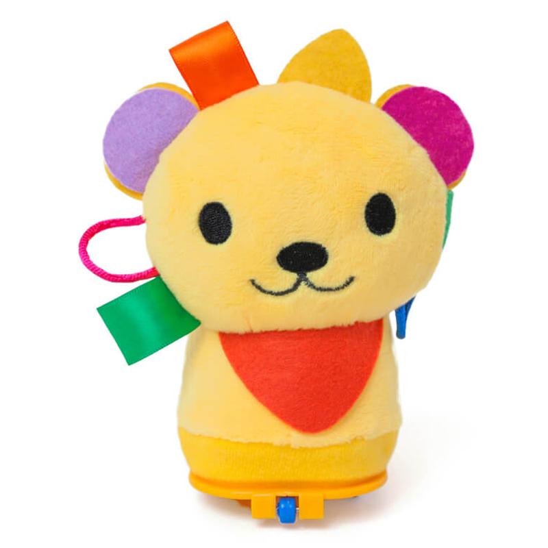 Ropojimą skatinantis interaktyvus žaislas Brain_Builders Catch Me If you Can! Lion