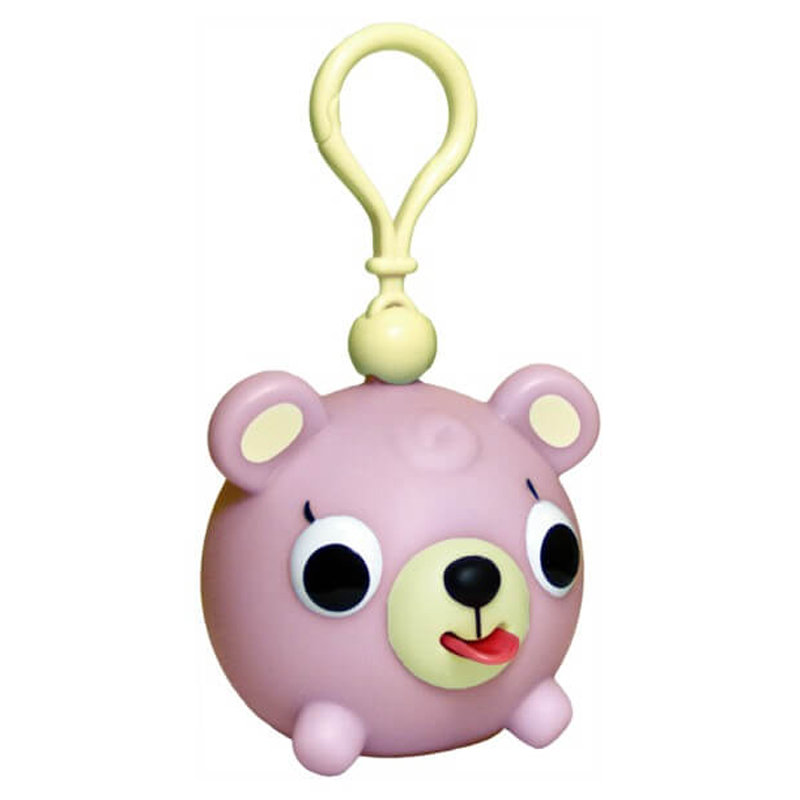 Žaislas-pakabukas meškutis rožinis