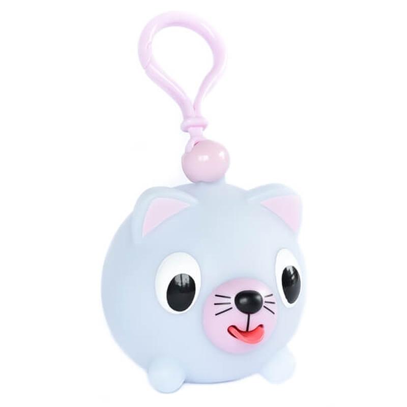 Žaislas-pakabukas katytė melsva