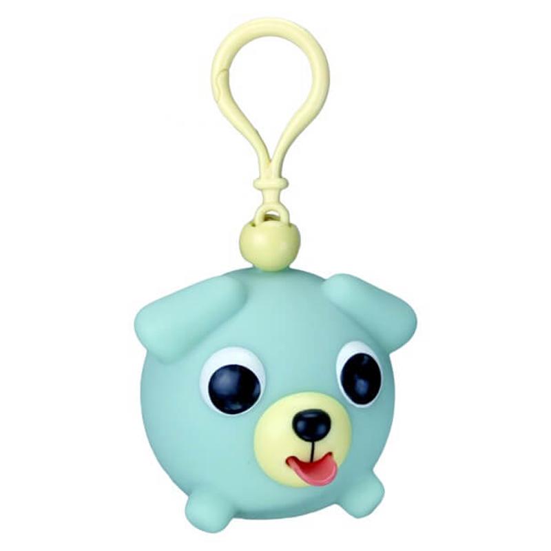 Žaislas-pakabukas šuniukas žalsvas