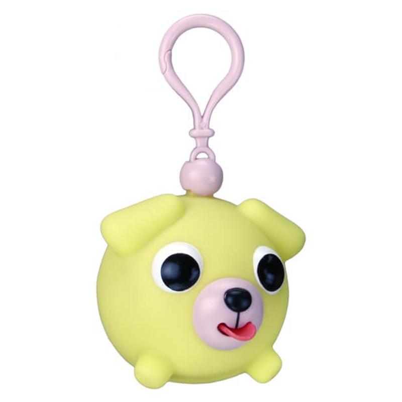 Žaislas-pakabukas šuniukas geltonas