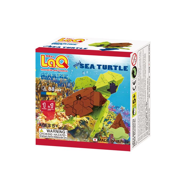 Japoniškas edukacinis konstruktorius LaQ Marine World Mini Sea Turtle