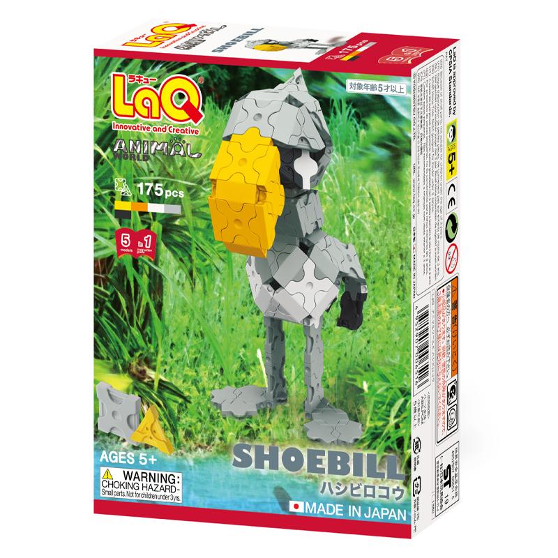 Japoniškas edukacinis konstruktorius LaQ Animal World Shoebill