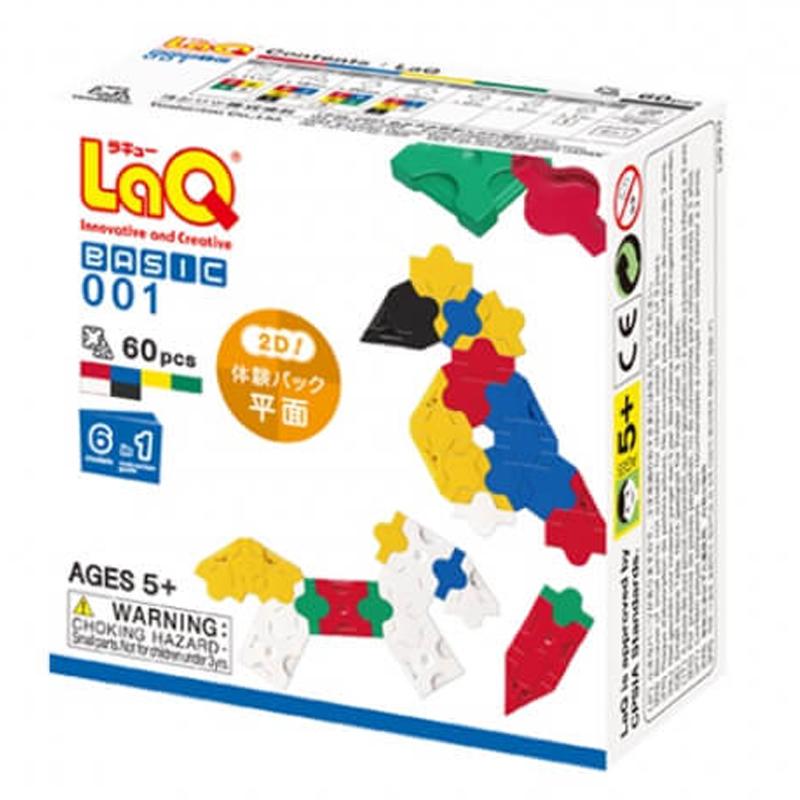 Japoniškas edukacinis konstruktorius LaQ Basic 001