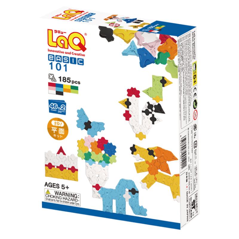 Japoniškas edukacinis konstruktorius LaQ Basic 101