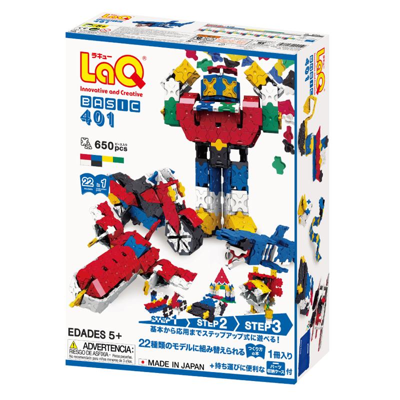 Japoniškas edukacinis konstruktorius LaQ Basic 401