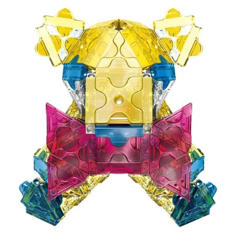 Japoniškas edukacinis konstruktorius LaQ Free Style Crystal