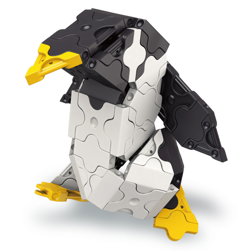 Japoniškas edukacinis konstruktorius LaQ Marine World Penguin