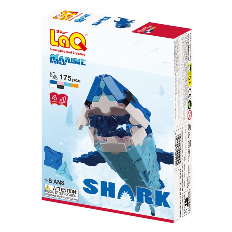 Japoniškas edukacinis konstruktorius LaQ Marine World Shark