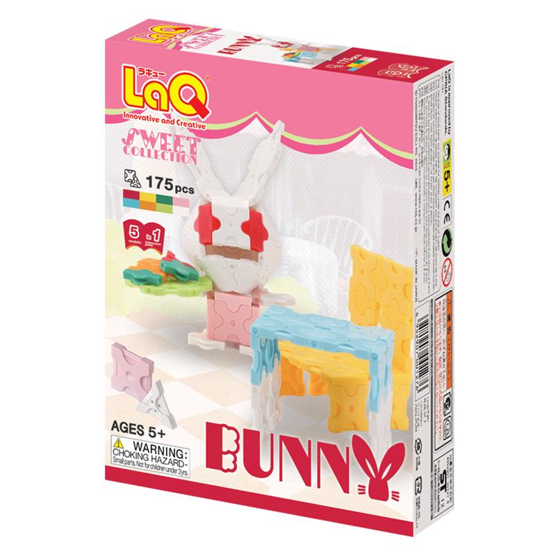 Japoniškas edukacinis konstruktorius LaQ Sweet Collection Bunny