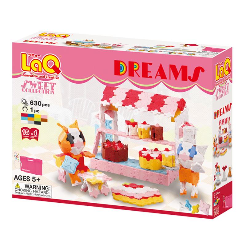 Japoniškas edukacinis konstruktorius LaQ Sweet Collection Dreams