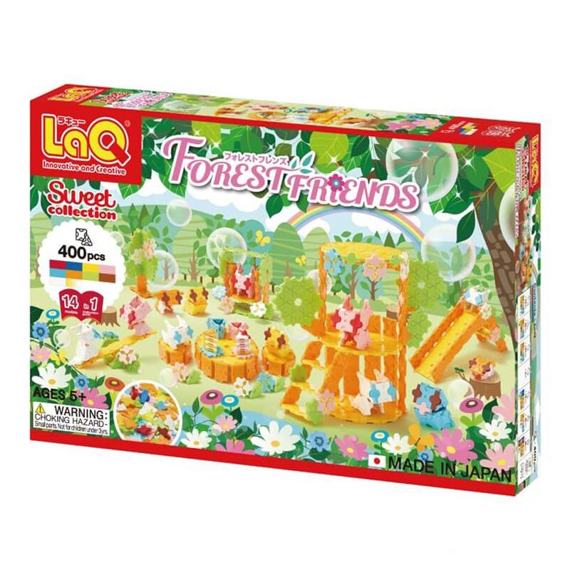 Japoniškas edukacinis konstruktorius LaQ Sweet Collection Forest Friends