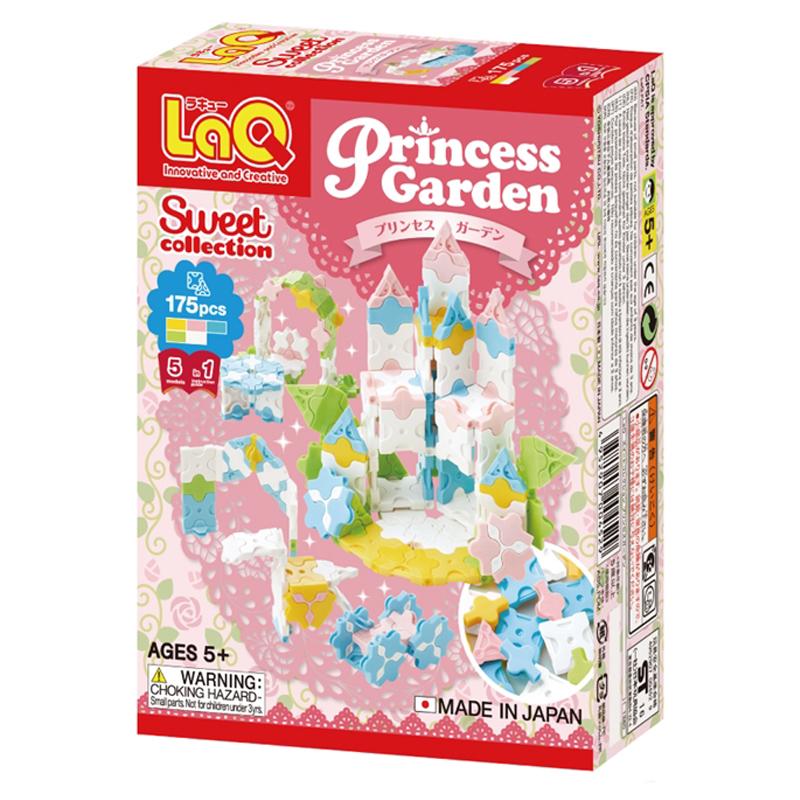 Japoniškas edukacinis konstruktorius LaQ Sweet Collection Princess Garden