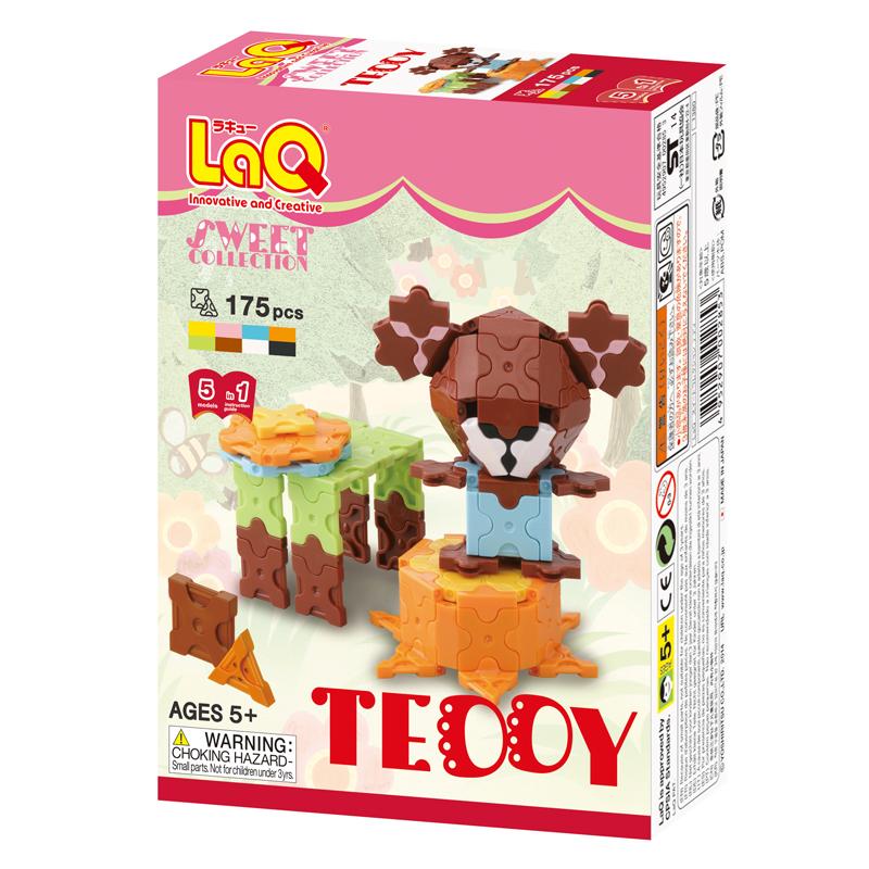 Japoniškas edukacinis konstruktorius LaQ Sweet Collection Teddy