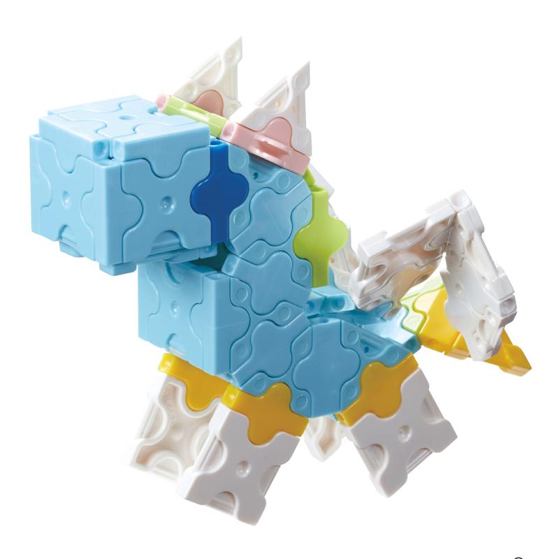 Japoniškas edukacinis konstruktorius LaQ Sweet Collection Unicorn