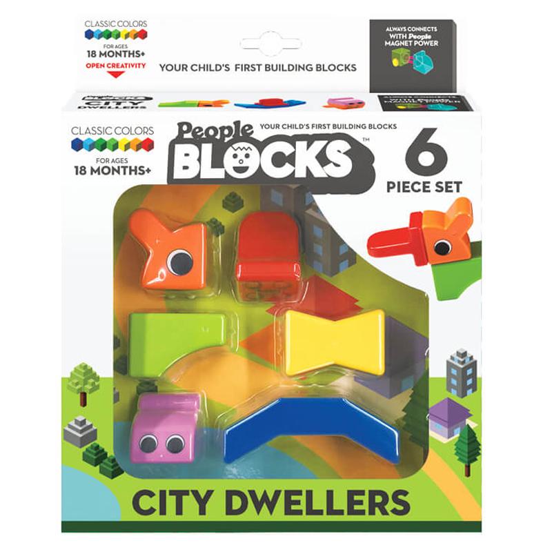 Magnetinis konstruktorius People Blocks City Dweller