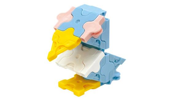 Japoniškas edukacinis konstruktorius LaQ Little Bird
