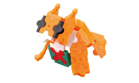 Japoniškas edukacinis konstruktorius LaQ Dog