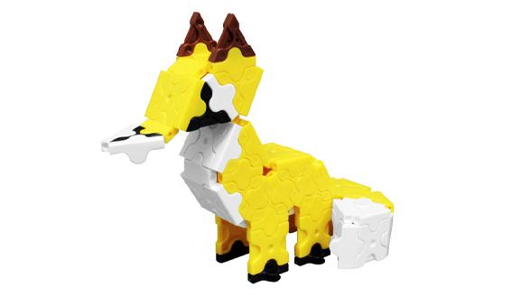 Japoniškas edukacinis konstruktorius LaQ fox