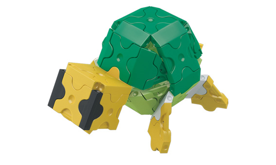 Japoniškas edukacinis konstruktorius LaQ Giant Tortoise