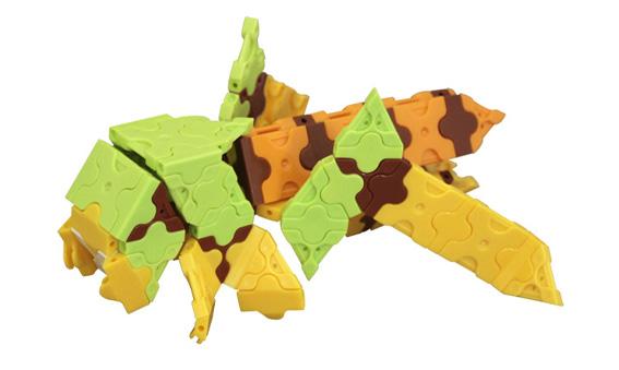 Japoniškas edukacinis konstruktorius LaQ Grasshopper