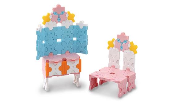 Japoniškas edukacinis konstruktorius LaQ Pretty Dresser