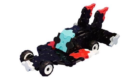 Japoniškas edukacinis konstruktorius LaQ Sports Racer