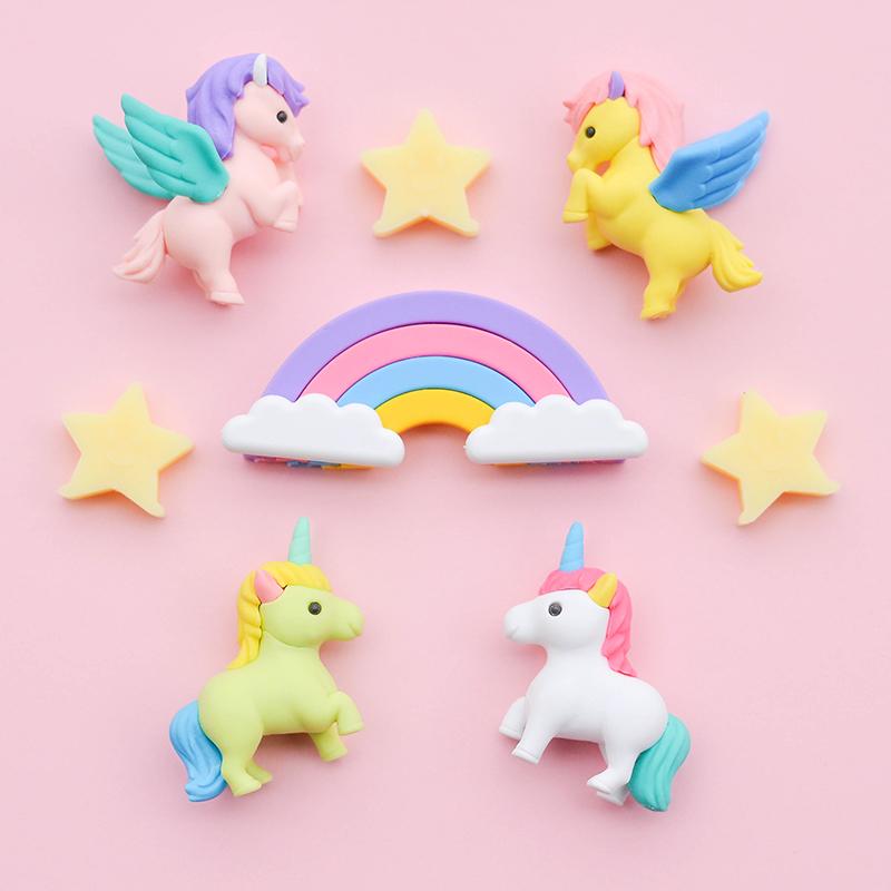 Japoniškų trintukų dėlionių IWAKO rinkinys Unicorn And Pegasus