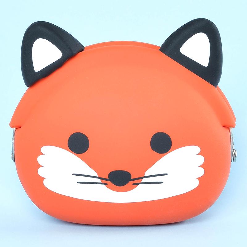 Japoniško dizaino silikoninė piniginė POCHI Friends Fox