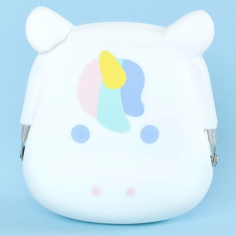 Japoniško dizaino silikoninė piniginė POCHI Friends Unicorn