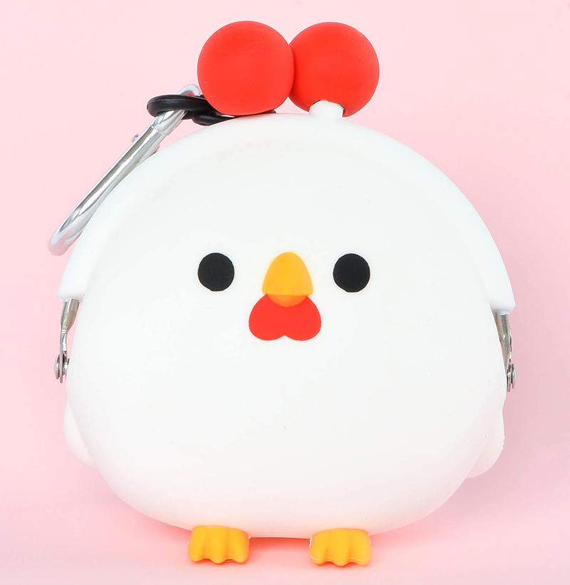 Japoniško dizaino silikoninė piniginė Bird Chicken