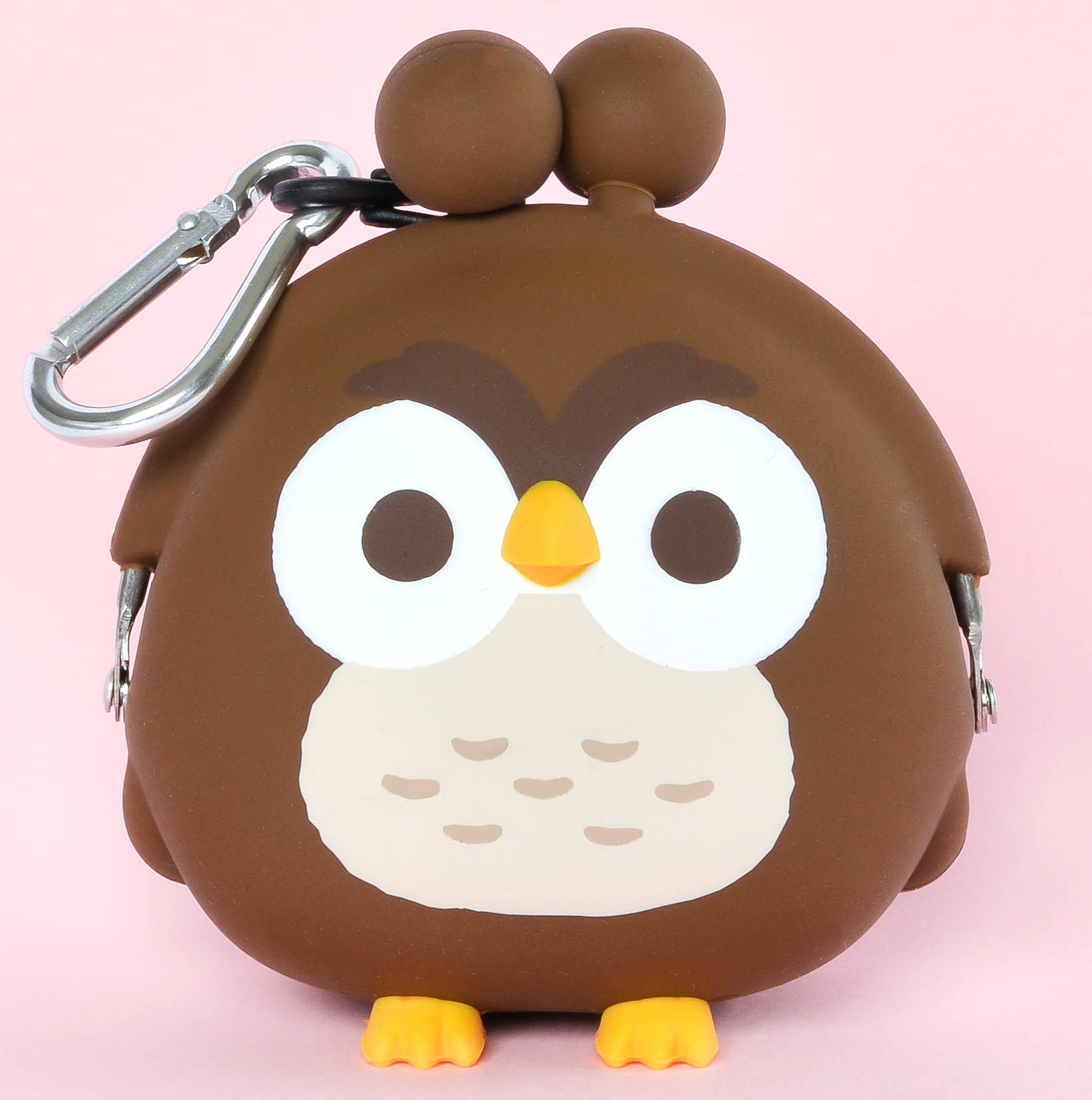 Japoniško dizaino silikoninė piniginė POCHI Friends Bird Owl