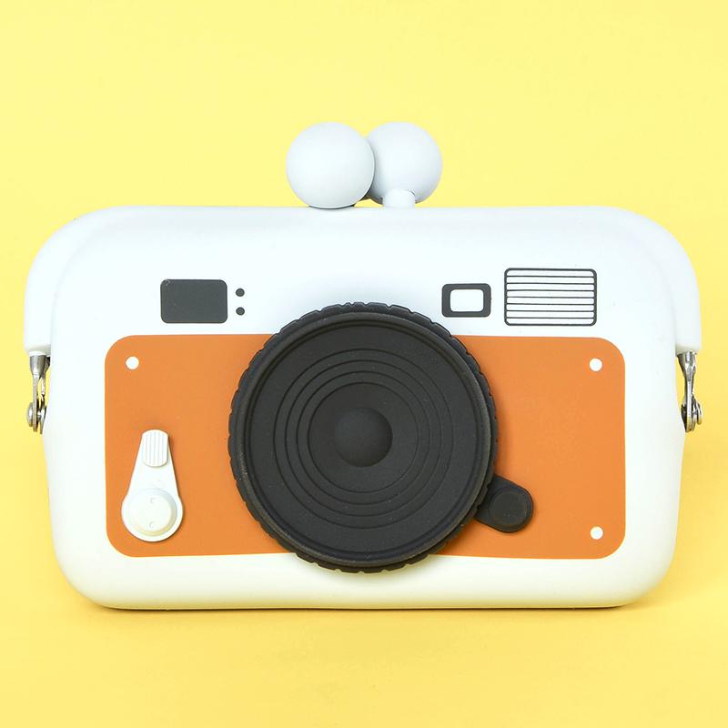 Japoniško dizaino silikoninė piniginė DO MO Camera