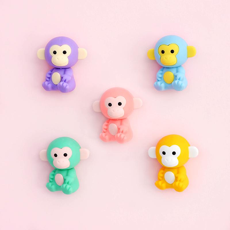 Japoniškų trintukų dėlionių IWAKO rinkinys Colorz Monkey