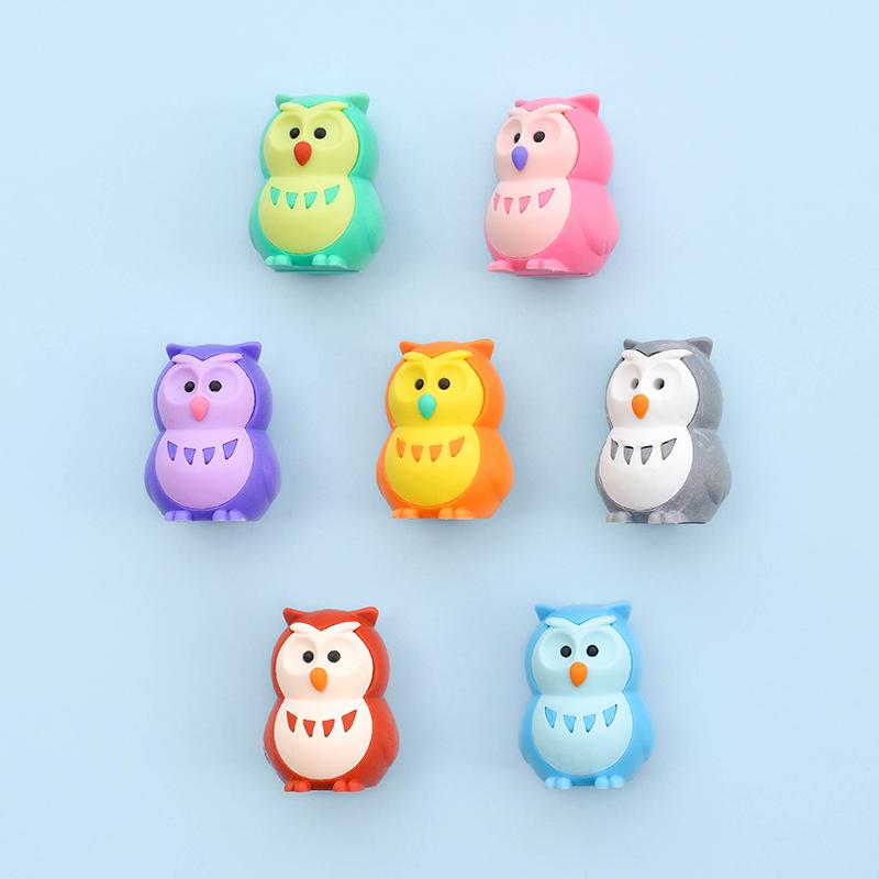 Japoniškų trintukų dėlionių IWAKO rinkinys Lucky Owls