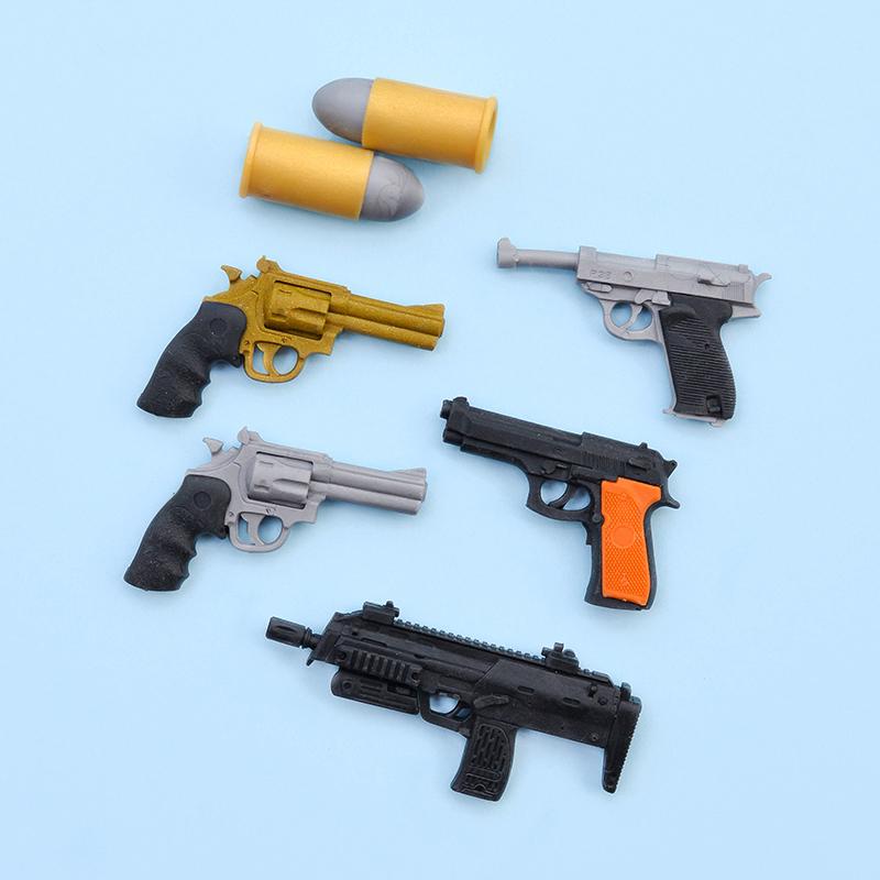 Japoniškų trintukų dėlionių IWAKO rinkinys Model Gun