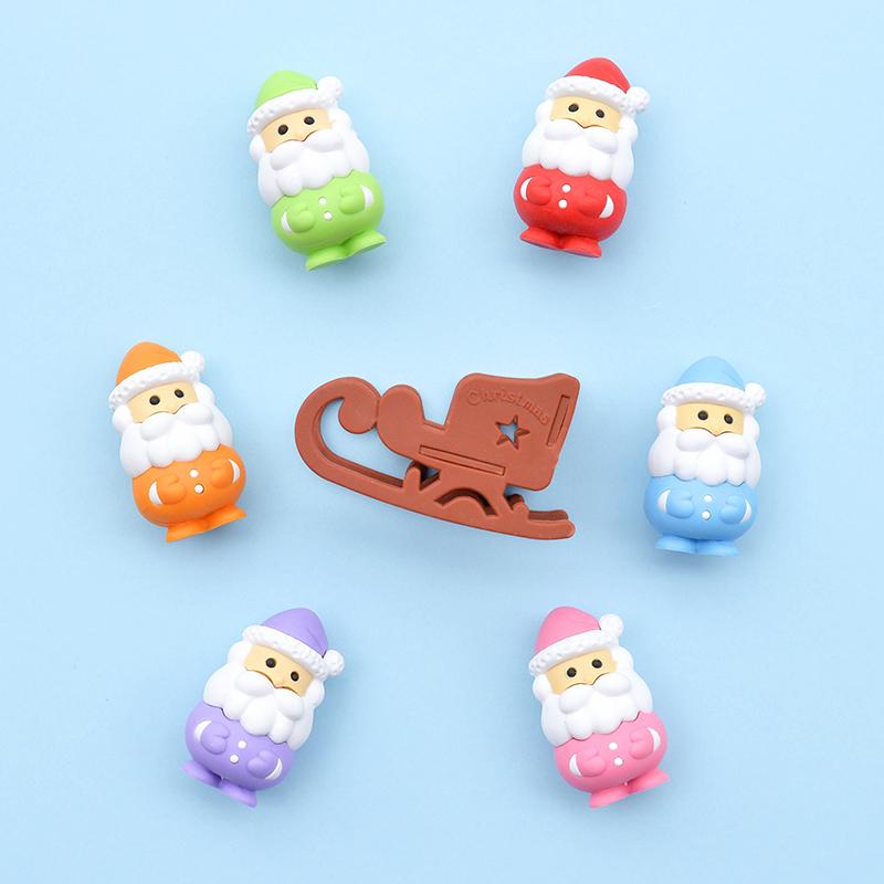 Japoniškas trintukas dėlionė IWAKO Santa Claus