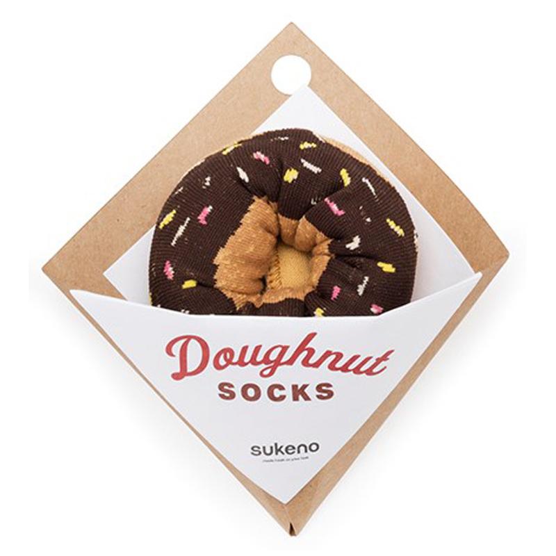 Japoniško dizaino kojinės IJ MARSHAL Doughnut Fudge Sprinkles
