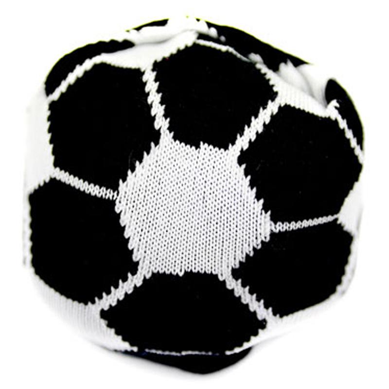 Japoniško dizaino vyriškos kojinės IJ MARSHAL Football Socks Black and White