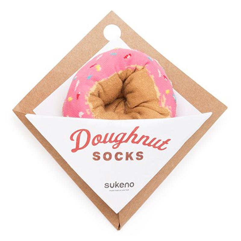 Japoniško dizaino vyriškos kojinės IJ MARSHAL Doughnut Berry Sprinkles