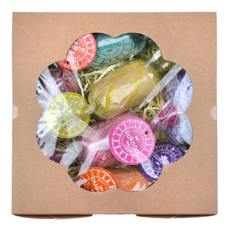 Kojinių rinkinys dovanų dėžutėje Gift Box Candy