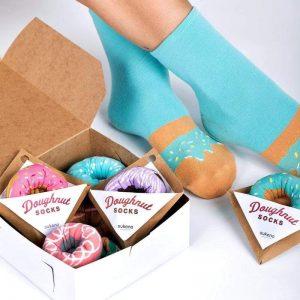 Japoniško dizaino kojinės IJ MARSHAL Doughnut