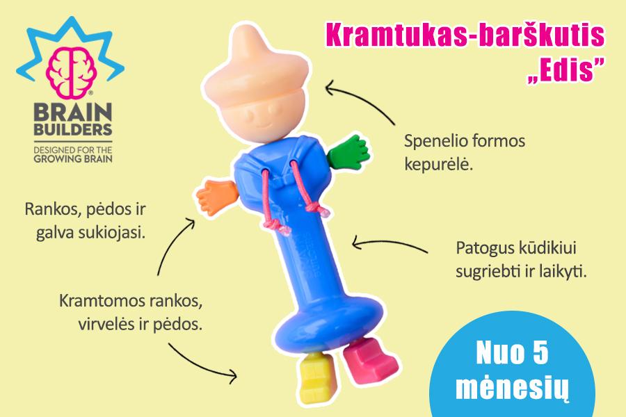 žaislai kūdikiams kramtukas