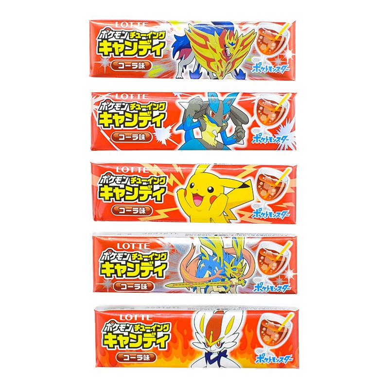 japoniski kramtomi saldainiai kramtoma guma pokemon pockemon