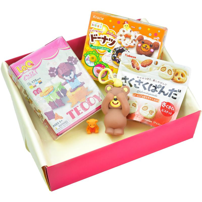 Dovana mergaitei Teddy Bear Gift Set