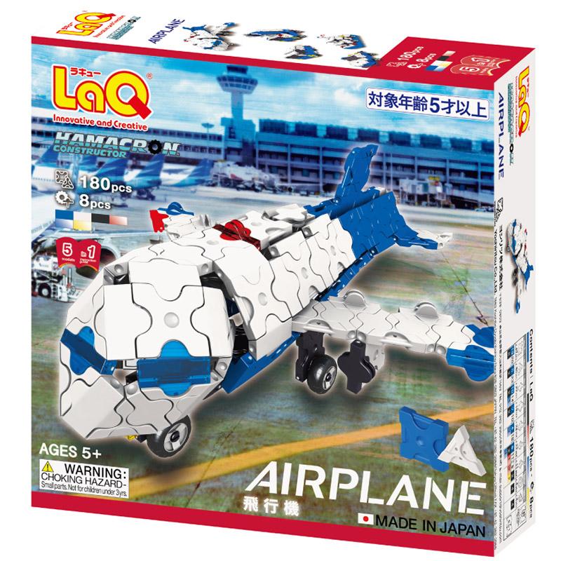 Japoniškas edukacinis konstruktorius LaQ_Airplane