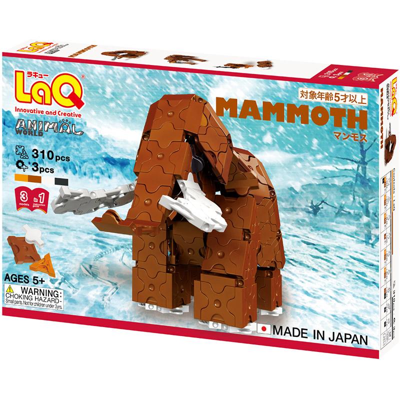 Japoniškas edukacinis konstruktorius LaQ_Mammoth