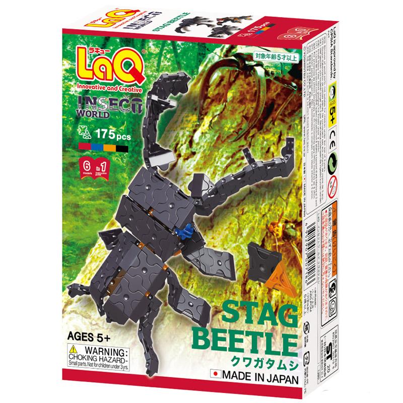 Japoniškas edukacinis konstruktorius LaQ_stagbeetle_p_data_front