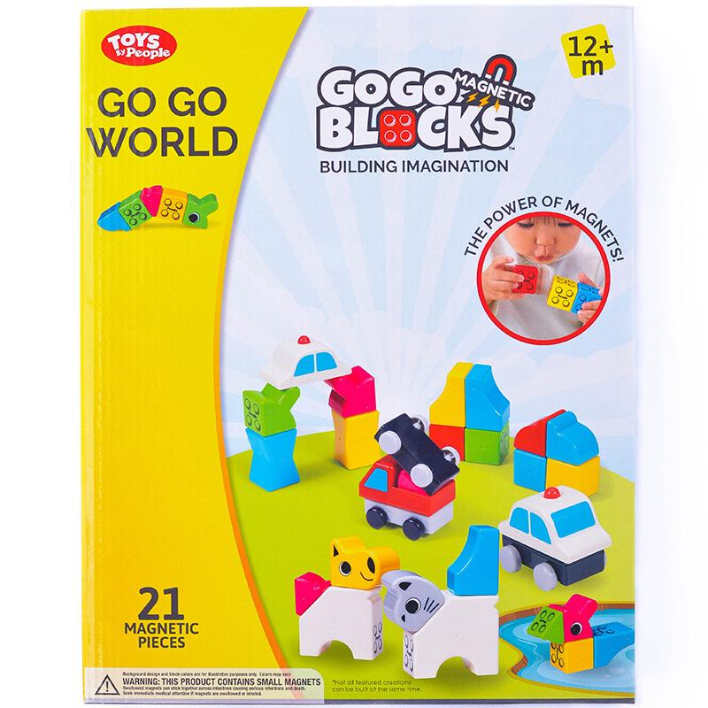 magnetines kaladeles people blocks go go world